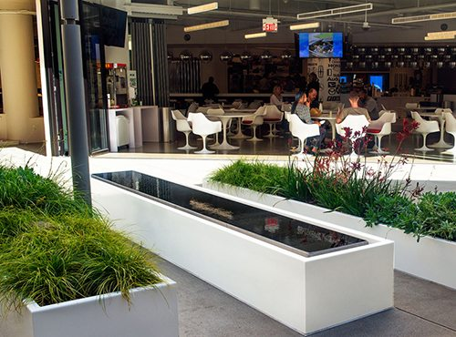 Gentil Linear Water Features With Infinity Edge Pools For Edmunds.com