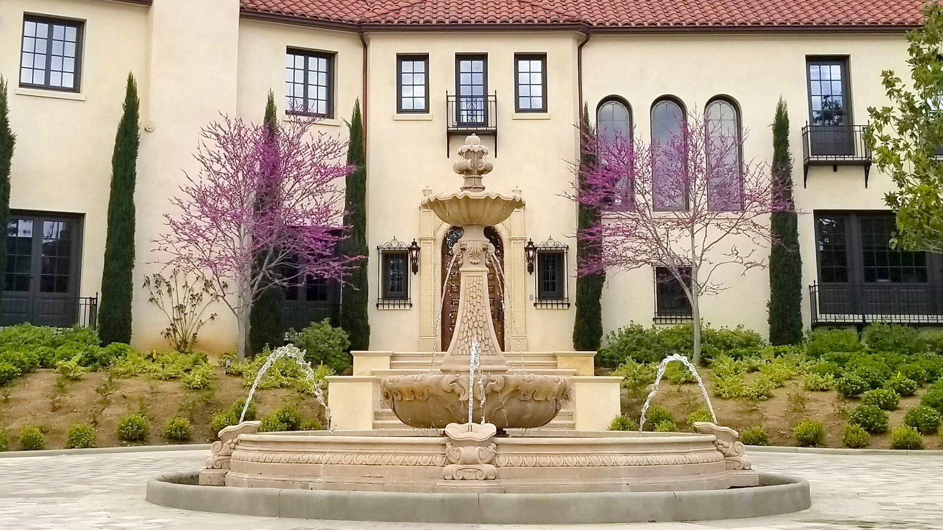 Pasadena Motor Court Fountain